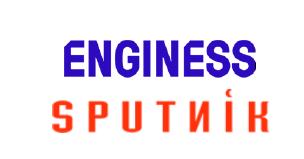 Enginess sputnik logo combined