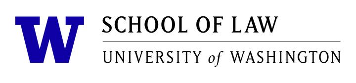 Uw sol logo black horizontal with purple w left